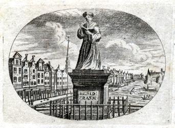 M-695 Standbeeld van Desiderius Erasmus, humanist.