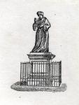 M-696 Standbeeld van Desiderius Erasmus, humanist.