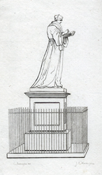 M-699 Standbeeld van Desiderius Erasmus, humanist.