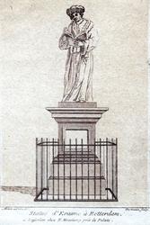 M-701 Standbeeld van Desiderius Erasmus, humanist.