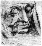 P-004507 Desiderius Erasmus op zijn sterfbed.