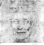 P-004509 Opmeting voor het dodenmasker van Desiderius Erasmus, humanist.