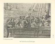 P-004926-25 Tocht van de Zeilwagen, mr.Hugo de Groot, staatsman en rechtsgeleerde. Pensionaris van 1613 tot 1618 van ...