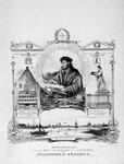 P-020125 Gedenkplaat op de 400e gedenkdag van de geboorte van Desiderius Erasmus, humanist.