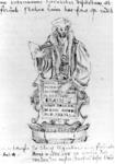 P-020697 Desiderius Erasmus, humanist en filoloog.