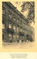 XIV-148 Gezicht op de Rotterdamsche Bankvereeniging aan de Boompjes.
