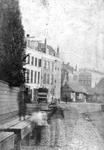 XIV-85 De Scheveningse Vismarkt aan de Coolvest bij de Binnenwegsebrug.