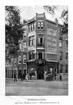 XV-57-01-15 Boek- en muziekhandel, drukkerij en uitgeverij D. Sijn en Zoon, op de hoek Gedempte Bierhaven - Oranjestraat.