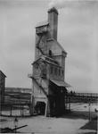 XV-89-2 Cokesgebouw van de gasfabriek aan de Galileistraat bij de Keilehaven.