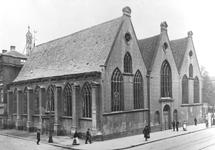 XVIII-11-1-TM-3 De Prinsenkerk aan de Gedempte Botersloot.-1: Op de hoek met de Prinsenstraat (links).-2: Op de hoek ...