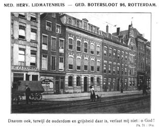 XX-33 Het Ned. Herv. Lidmatenhuis aan de Gedempte Botersloot.