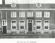 XXII-141 Inrichting voor doofstommen en woonhuis van de directeur A.F. Fehmers aan de Coolsingel.