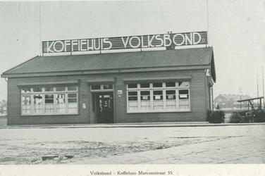 XXIV-74-01-1 Koffiehuis van de Volksbond tegen Drankmisbruik aan de Marconistraat 55.