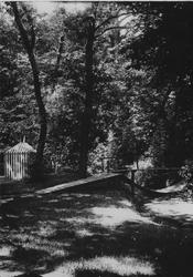XXV-327-01-00-00-02-1 Tuin van de buitenplaats Woudenstein aan de Honingerdijk.