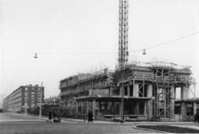 XXV-791-05 Flat in aanbouw aan het Zuidplein.