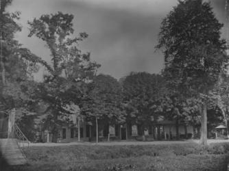 XXXI-345 Het huis 'Vredehof' aan de Oudedijk (gesloopt in 1883 - de Familie Cankrien, eigenaar d.d. 1878/1882).