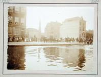 XXXIII-211-1 Christiaan de Wet maakt een rijtoer door de stad. Op de foto: bij de Schiekade.