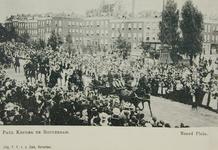 XXXIII-212-8 Paul Krüger maakt een rijtoer door de stad. Op de foto: het Noordplein.