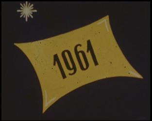BB-7618 Amateurfilm van de Kilima Hawaiians / familie Buijsman. De titel is 1961, terwijl het een film met tussentitels ...