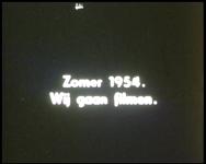 BB-7639 Amateurfilm van de Kilima Hawaiians / familie Buijsman. Zwart-wit film met tussentitels. Over dagjes uit in ...