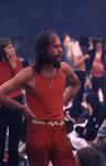 2006-47-033 Diareportage van het Holland Popfestival in het Kralingse Bos (33): een jonge man met een baard en ...