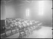1976-11033 Een zaal in het gebouw van de Rotterdamsche Vereeniging voor den Termijnhandel in granen in de Beurs aan het ...