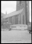 1976-11828 De Sint-Laurenskerk tijdens restauratie.