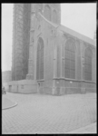 1976-11829 De Sint-Laurenskerk tijdens restauratie.