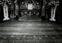 1976-12189 Interieur rooms-katholieke kerk Allerheiligste Verlosser aan de Goudse Rijweg.