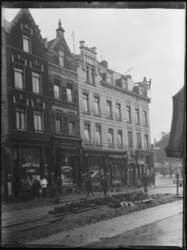 1976-4197 De Gedempte Slaak nrs. 140-150, nabij het Oostplein.