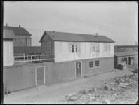 1976-4930 Bouwterrein van het Stadstimmerhuis aan het Haagseveer.