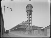1976-6040 Het gebouw van het katoenveem aan de Keilestraat op nr. 13.