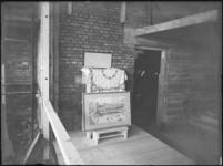 1976-6308 Tekening van de bouw van warenhuis de Hema aan het Beursplein.