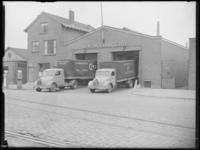 1976-6979 Bedrijfsgebouw van vervoermaatschappij Cito aan de Gustoweg op nrs. 29-31.