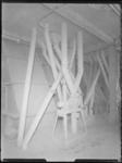1976-7204 Interieur van de meelfabriek Meneba aan de Brielselaan.