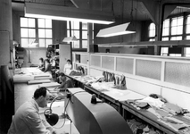 1976-7935 Het interieur van Confectie-bedrijf Adriaansz aan de Van Speykstraat 107a