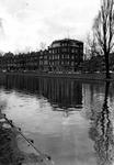 1976-9313 Gezichten op de Heemraadssingel bij de Graaf Florisstraat (rechts).Afgebeeld van boven naar beneden.