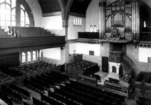 1987-211 Interieur Nieuwe Kerk (Delfshaven) aan de 's-Gravendijkwal.