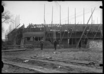 2008-5200 Woningbouwproject in de steigers. Onbekende locatie.