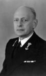P-003660 Portret van Gerard Gijsbert Bozuwa, directeur van de filiaal - inrichting van het Koninklijk Meteorologisch ...