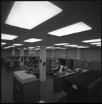 10036-2 Overzicht van de computerzaal van het Instituut Electronische Administratie aan de Diergaardesingel.