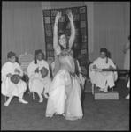 10102 Tunesische folklore en muziek met danseres Sabrina in Rotterdam-Hilton.