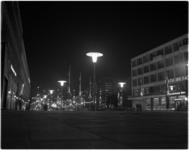 1012 De nieuwe verlichting voor de komende feestdagen in de Lijnbaan.