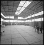10575-1 Overzicht interieur nieuwe hal Verolme-Elektra Maassluis.