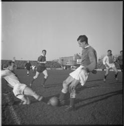 1081 Spelmoment uit de voetbalwedstrijd Sparta - Ajax.