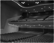 1091-2 Interieur van het nieuwe Scalatheater aan de Westblaak dat door burgemeester Van Walsum werd geopend.