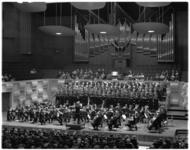 11799 Rotterdams Opera koor in de Grote Zaal van de Doelen.