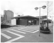 11849 Paviljoens bij Schouwburgplein aan de zijde van de Karel Doormanstraat.