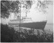 12055-1 Passagiersschip de Avalon ligt afgemeerd aan de Parkkade in verband met congres ABTA (organisatie van Britse ...