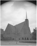 12091 De Statensingelkerk, de gereformeerde kerk aan de Statensingel, hoek Dresselhuysstraat in Blijdorp.